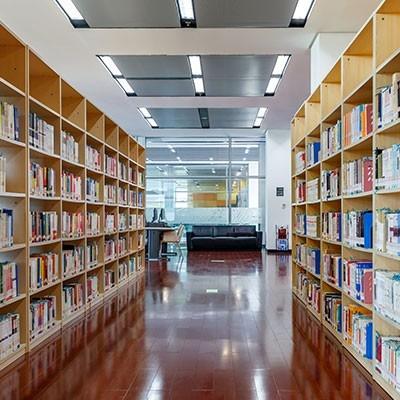 休闲阅读区